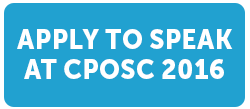 Apply to speak at CPOSC 2016